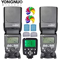 YONGNUO YN660 Flash Speedlight KIT + YN560TX C Flash Trigger Remote Controller For Canon DLSR Cameras(YN560IV Upgrade Version)