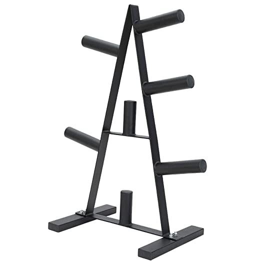 Barbell Olympic 2-Inch Plate Rack