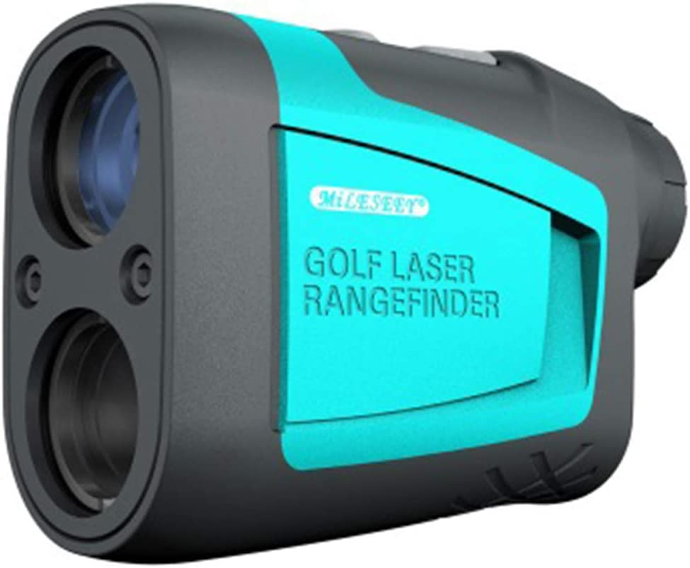 Jaffick Golf Rangefinder Laser Golf Distance Range Finders 656 Yards Measurement Monocular Telescope with Carrying Case, Battery