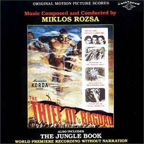 Bagdad Music Book - The Thief of Bagdad / The Jungle Book: Original Motion Picture Scores