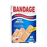 Purest Instant Aid Sheer Multiple Bandage (50 In 1 Pack) 2311492