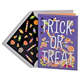 Hallmark Signature Halloween Greeting Card (Trick or Treat Candy Corn)