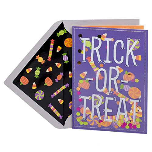 Hallmark Signature Halloween Card (Candy Confetti)