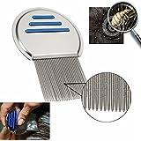 SBE Terminator Lice Comb Nit Hair Rid Headlice Superdensity Stainless Steel Metal Teeth Remove Nits Brush 1 pcs