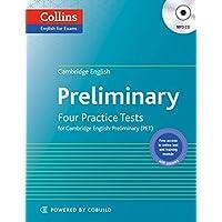 Cambridge English Preliminary : Four Practice Tests (PET) + MP3 CD