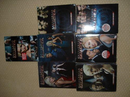 Battlestar Galactica Seasons 1 2 2.5 3 4 4.5 Complete Series & The Plan
