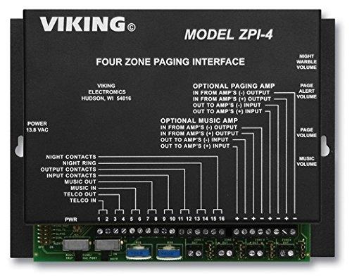 [해외]바이킹 다중 영역 페이징 인 터 페이스/Viking Multi-Zone Paging INterface