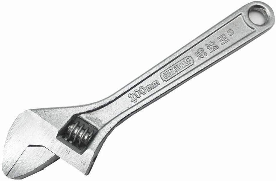 amarillo boca ancha compacta ligera herramienta de mano de mand/íbula ancha Llave inglesa ajustable SENRISE de agarre suave