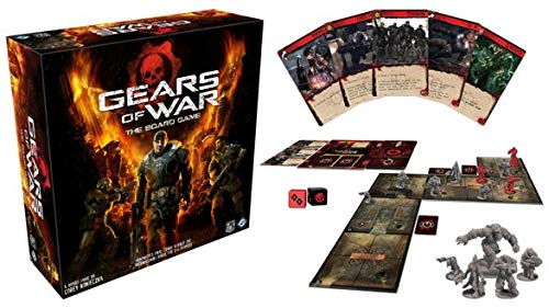 Gears Of War The Board Players Game (Gears Of War Board Game Mission Pack)