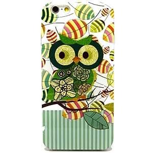 JJE Cute Owl Pattern TPU Soft Cover for iPhone 6 Case 4.7 inch