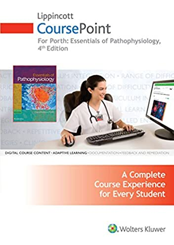 lippincott coursepoint for porth s essentials of pathophysiology rh amazon com Social Studies Answers Study Guide Maps