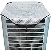 ZMAYI AC Defender - All Season Universal Mesh AC Cover for Central Units Outside (White Mesh, 36' X 36')