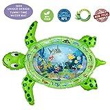 gebra Inflatable Tummy Time Water Mat Sea Turtle