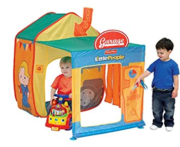 Fisher-Price Garage Role Play Tent  sc 1 st  Amazon UK & Fisher-Price Garage Role Play Tent: Amazon.co.uk: Toys u0026 Games