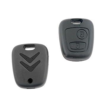 Carcasa para llave con mando a distancia de Citroën C3, C2 ...