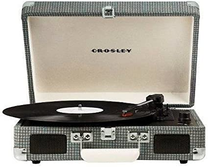 Crosley Portable Suitcase Record Player Turntable Voyager Bluetooth 3 Speed Sage