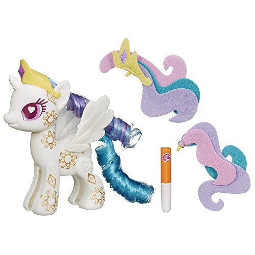 My Little Pony Pop Cutie Mark Magic Princess Celestia Design-A-Pony Kit]()