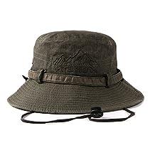 Bucket Fisherman Hats Men Womens Cotton Foldable Outdoor Hiking Spring Summer Sun Hat
