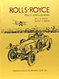 Rolls-Royce, Fact and Legend, C. S. Shoup and T. E. Reich, 0962192503