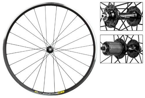 Wheel Master Wheelset 700 Wtb Freedom Rlx1.9 Black Machined 24 by Freedom