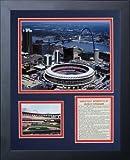 Legends Never Die Busch Stadium Old Aerial Framed Photo Collage, 11x14-Inch