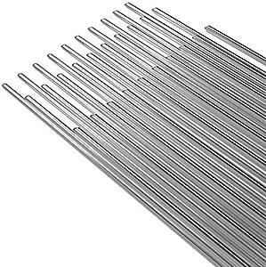 50pcs Solution Welding Flux-Cored Rods ,Universal LowTemperature Aluminum Wire Brazing Tube Excellent Corrosion Resistance 1.6mm in Diameter 20PCS