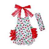 Toddler Christmas Outfit Newborn Infant Baby Girl