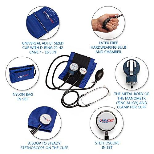 manual blood pressure cuff instructions