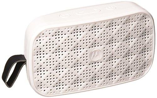 Motorola SP006 WH Sonic Play 100 Bluetooth Speaker - White