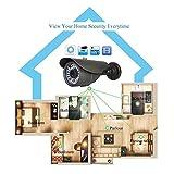 HEROUS 1000TVL CCTV Home Surveillance Analog Bullet Camera Day/Night Vision 36 PCS IR LED 3.6mm Wide Angle Len 100ft IR range with IR Cut Weatherproof