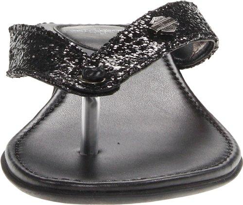 Da Slide Us Harley Black M Sparkle Sandalo 5 5 Donna Davidson Zetta EwEXqC7x