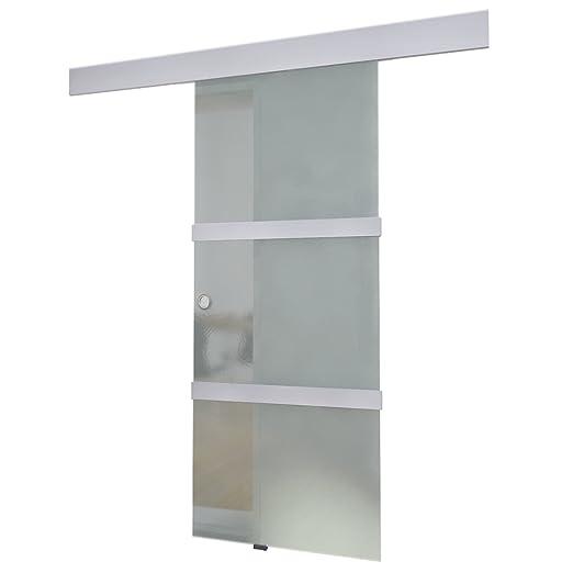 27 opinioni per vidaXL Porta scorrevole in vetro dimensioni 205 x 75 cm.
