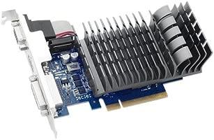 ASUS 710-2-SL - Tarjeta gráfica (2 GB DDR3, HDMI, DVI)