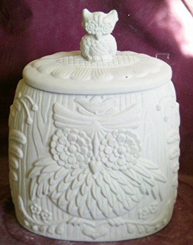 Cookie Jar Ceramic Bisque - 6