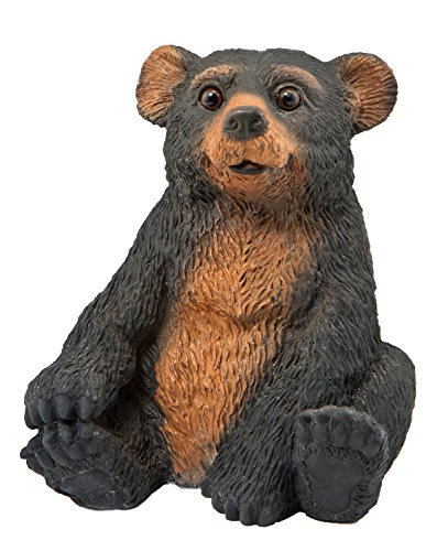 Sculptural Gardens BL3615 Sitting Bear Cub Statue