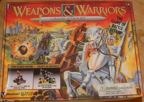Weapons & Warriors Cavalry Attack Set (Weapons And Warriors Board Game compare prices)