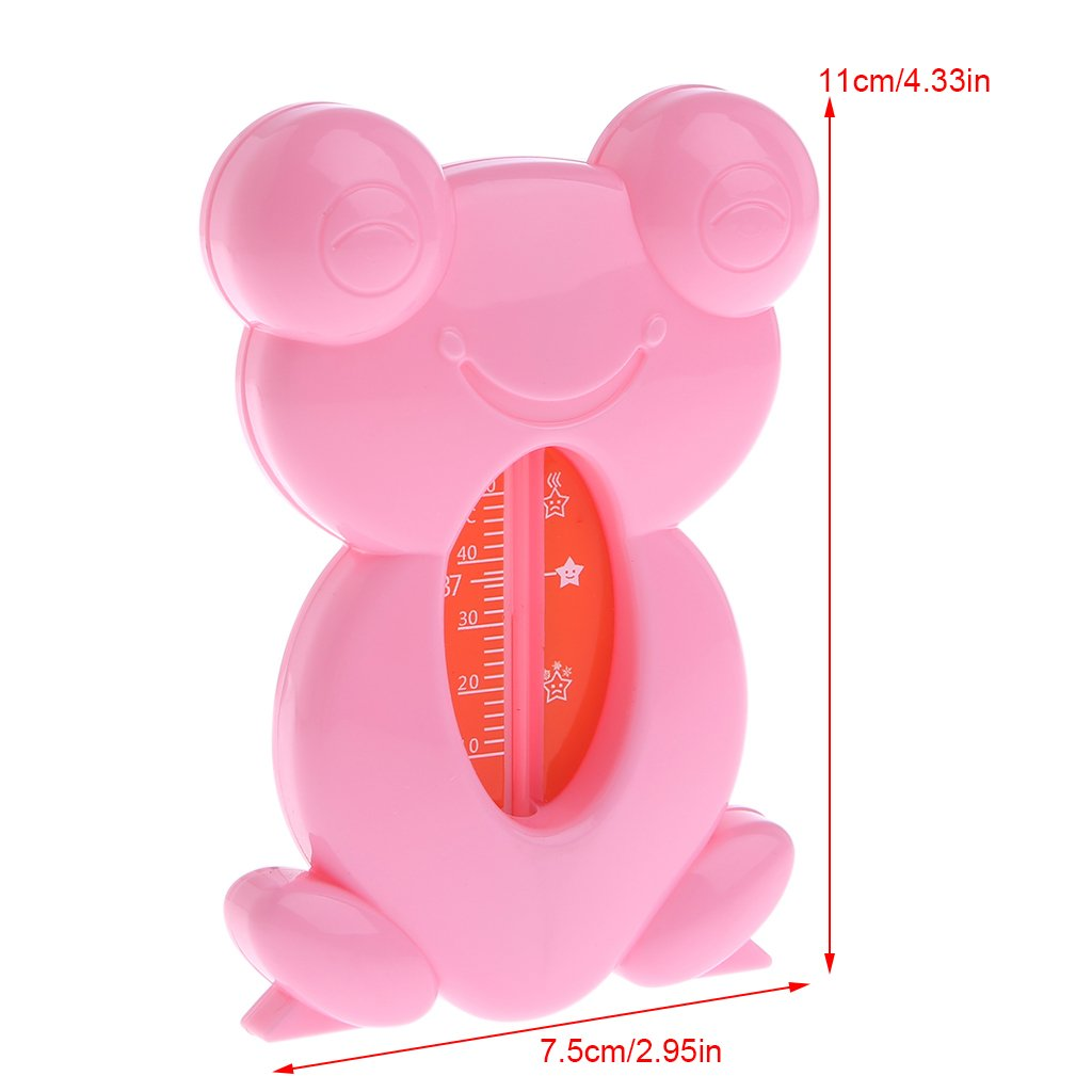 Yuly Baby Thermometer Cute Cartoon Frog Bathtub Bath Safe Water Thermometer Tester For Baby Children 10~50℃