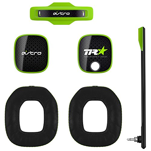 (ASTRO Gaming A40 TR Mod Kit, Noise Cancelling Conversion Kit - Green)