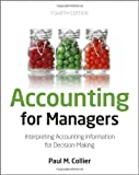 Accounting for Managers, Paul M. Collier, 1119979676