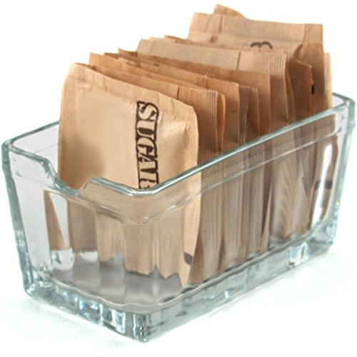 Anchor Hocking Presence Glass Sugar Packet Holder