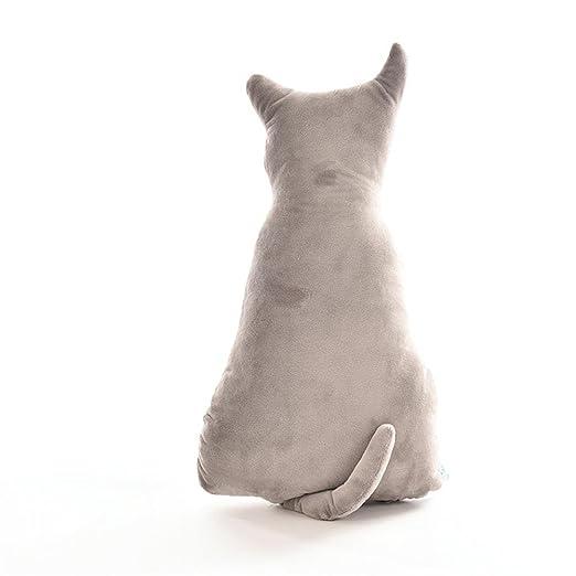 chenglan Super suave espalda en forma de gato suave manta ...