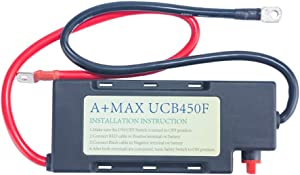 GEC A+MAX UCB450-60 15 Volts 90 Farads Ultra Capacitor Engine Start -Stop Ignition Current Boost system, Car Battery,Super Capacitor Car Jump Starter with 24 inch, 4 Gauge cables(USA Patent Pending)