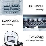 Cliselda Portable Ice Maker Countertop
