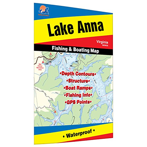 Anna Fishing Map, Lake