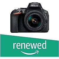 (Renewed) Nikon D5600 with AF-P 18-55 mm + AF-P 70-300 mm VR Kit with Bag and 16GB Memory Card Free