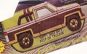 Amazon Com Wilton Free Wheelin Truck Van Suv Cake Pan