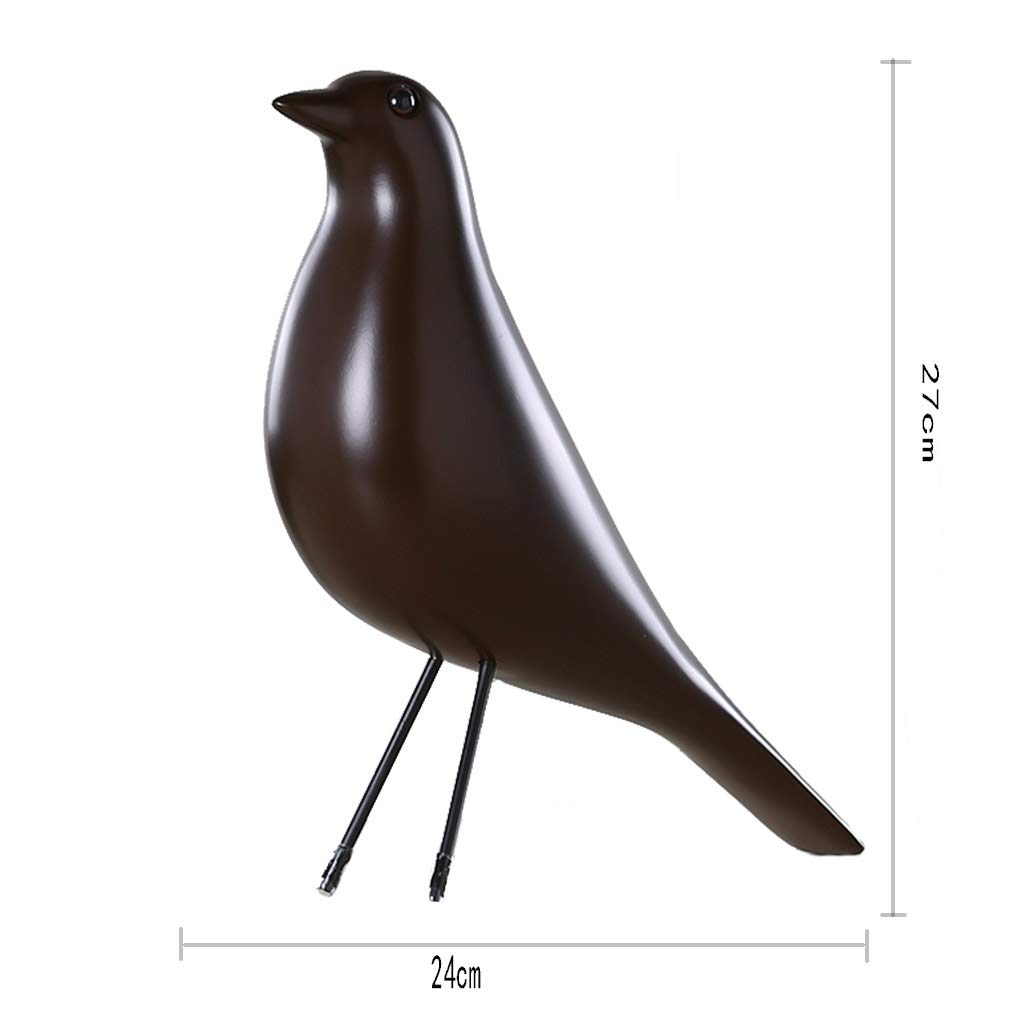 Ornaments for Home-Resin Bird Creative Decoration Living Room Decoration Decoration Gift 2724 (Color : G)