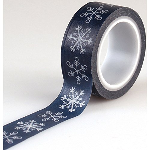 Echo Park Paper Company ILW115027 Decorative Tape-Snowflakes