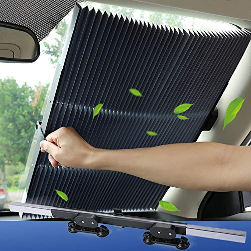 Tysonir Windshield Retractable Sunshade Reflector