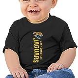 DVPHQ Baby's Jacksonville Logo Jaguars Shirts Little Unisex Black (6-24 Months)